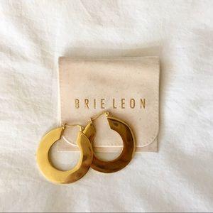 Brie Leon Mirror Hoop Earrings